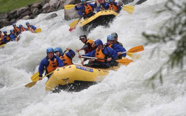 Attività in Val di Sole - rafting