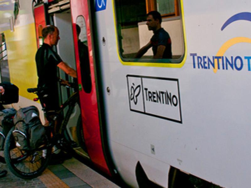 treno+bici val di sole