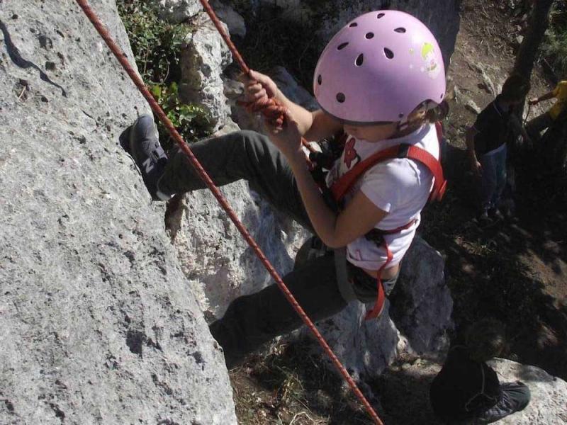 climbing bambini val di sole