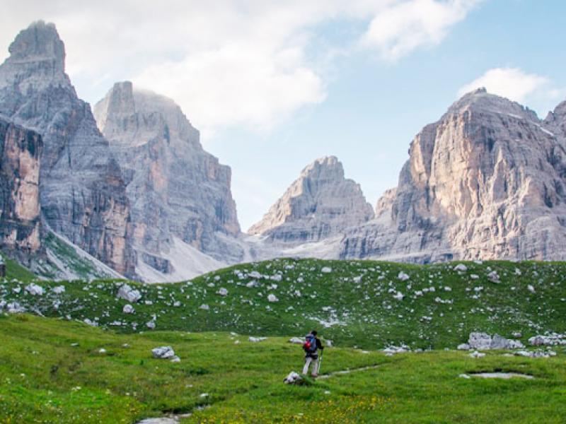 Trekking nelle Dolomiti