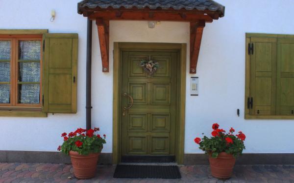 ingresso del residence gran vacanze