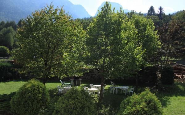 il giardino del residence gran vacanze