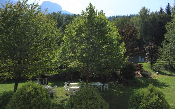 giardino del residence gran vacanze